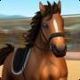 騎馬越障比賽游戲